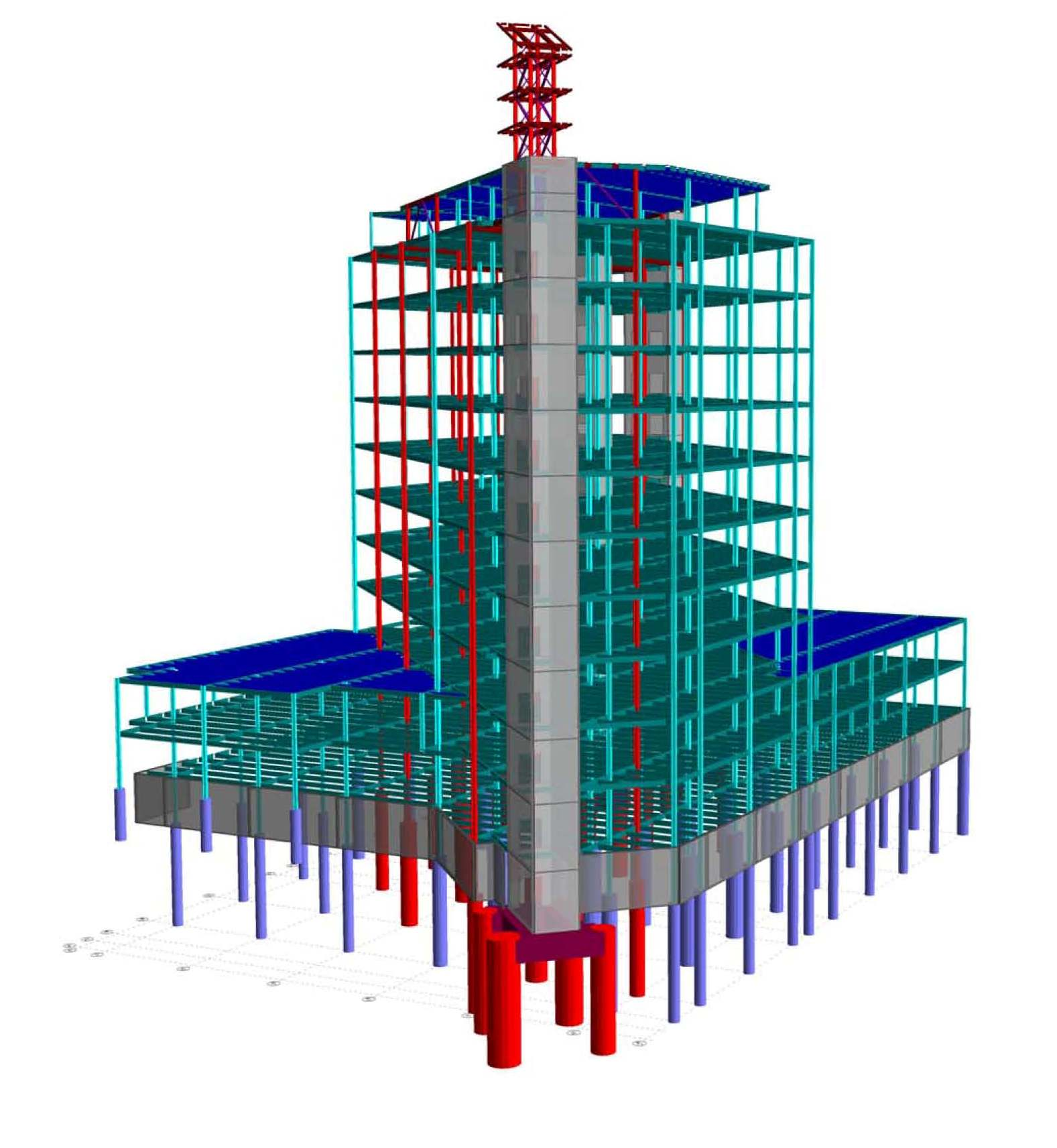 THOMASON TOWER ISOMETRIC 3
